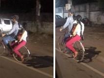 Bức ảnh cả gia đình chở nhau trên chiếc xe đạp cũ khiến dân mạng tranh luận rôm rả: Có hay không hạnh phúc trong cái nghèo?