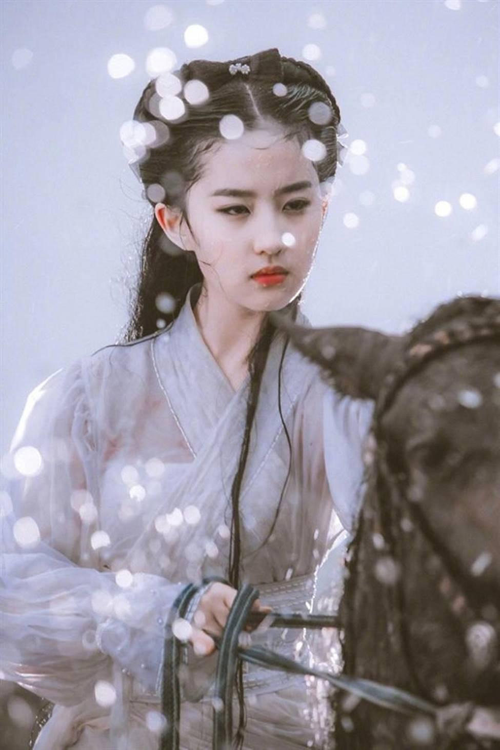 Lưu Diệc Phi trở thành nữ thần được đàn ông Trung Quốc khao khát nhất 2019-1