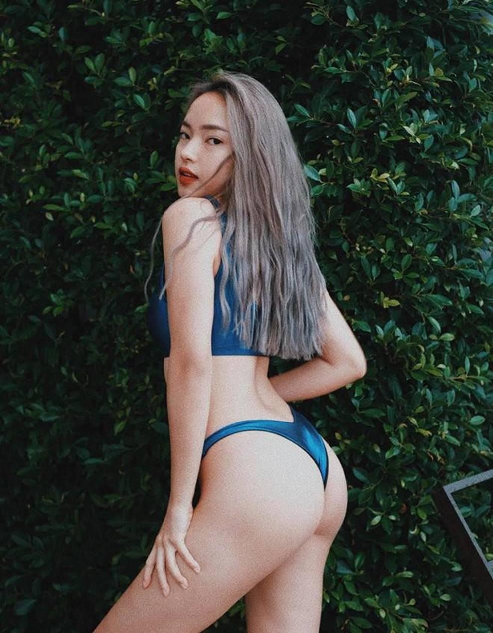 Loạt fashionista chăm diện bikini khoe vóc dáng nóng bỏng-4