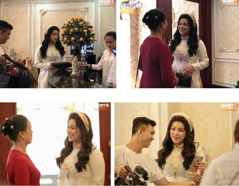 Bùi Tiến Dũng và cô dâu Khánh Linh hôn nhau say đắm, hát Nắm Lấy Tay Anh cực ngọt ngào-5
