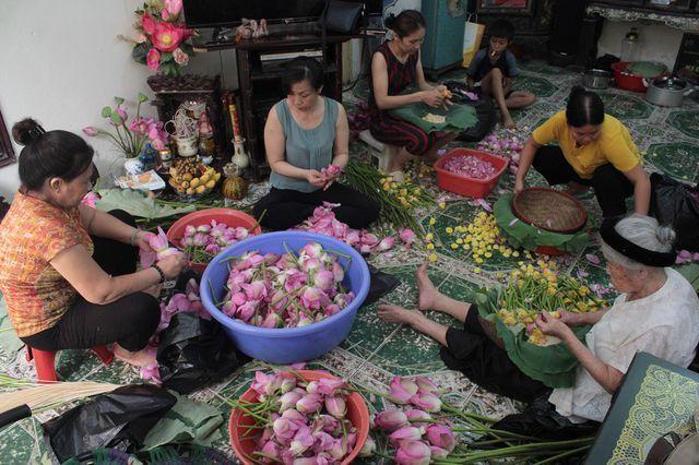 Thiên cổ đệ nhất trà sen của cụ bà U100 Hà Nội, giá 7 triệu đồng/kg-1