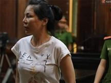 Vợ cũ bác sĩ Chiêm Quốc Thái xuất hiện căng thẳng tại phiên tòa xét xử vụ thuê giang hồ truy sát chồng