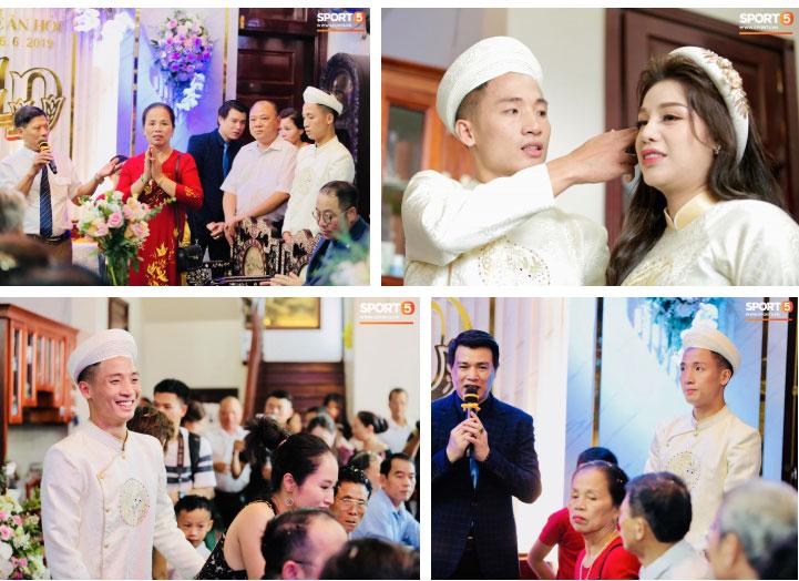 Bùi Tiến Dũng và cô dâu Khánh Linh hôn nhau say đắm, hát Nắm Lấy Tay Anh cực ngọt ngào-14