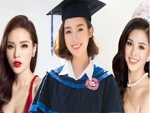 Soi đường học vấn của các Hoa hậu Việt: Đỗ Mỹ Linh hạnh phúc nhận tấm bằng vẻ vang, Kỳ Duyên tốt nghiệp hay chưa vẫn là dấu hỏi lớn