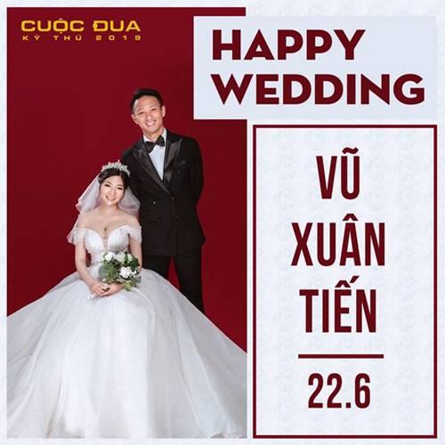 Bất ngờ: Chàng Running Man cởi trần Vũ Xuân Tiến đã có vợ, danh tính cô dâu gây tò mò-1