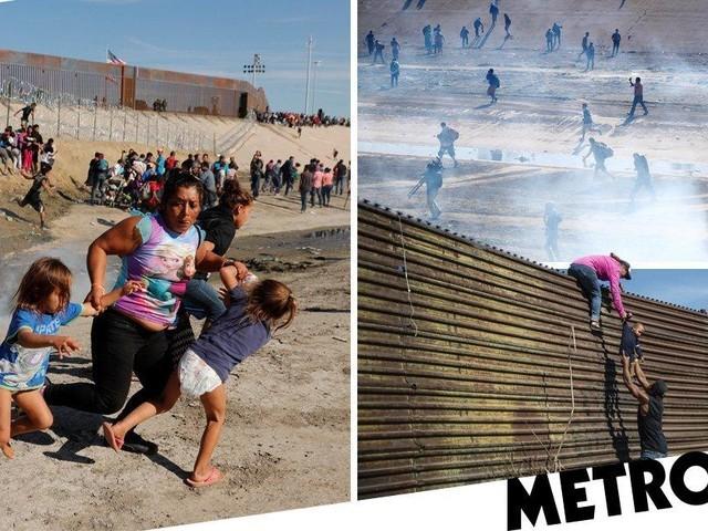 Những bức ảnh lay động lòng người cho thấy sự tàn nhẫn của thảm họa di cư, khi hàng rào thép gai nơi biên giới cứa nát cuộc đời những đứa trẻ-12