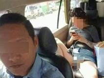 Vô tư dạng chân trên taxi như ở nhà, cô gái hớ hênh khiến tài xế đỏ mặt
