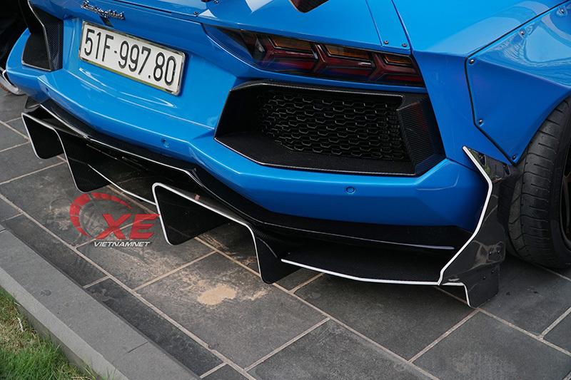 Doanh nhân Vũng Tàu nâng niu siêu bò Lamborghini Aventador hết mực-4