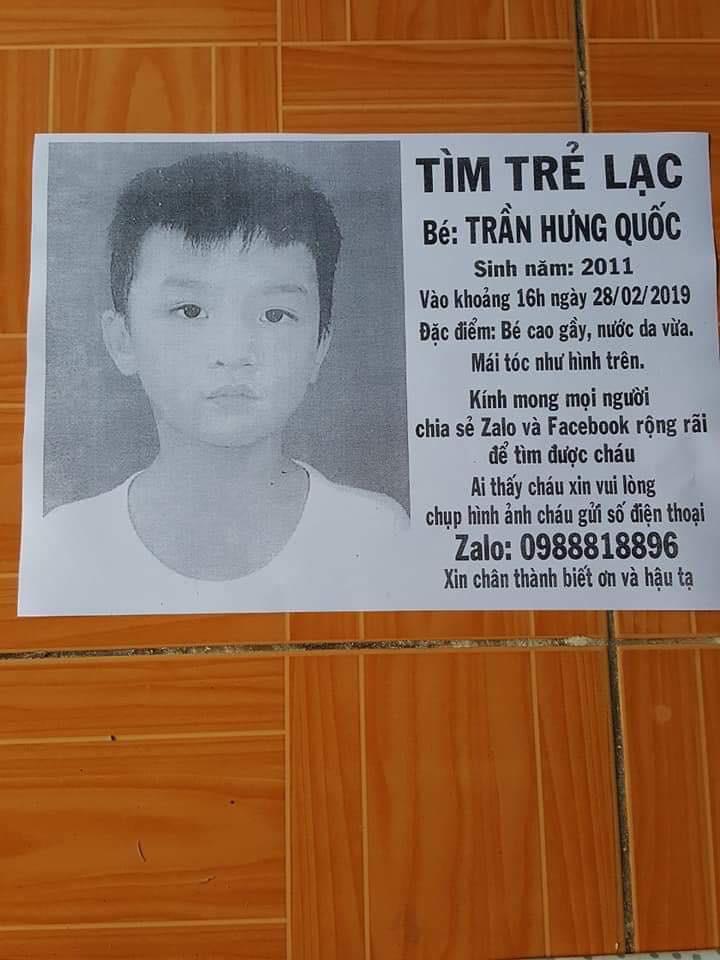Để con trai 8 tuổi ở nhà một mình, người cha ở Sài Gòn hối hận vì bé mất tích bí ẩn suốt nhiều tháng-1