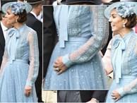 Báo Anh chỉ ra bằng chứng Công nương Kate đã ngầm thông báo việc mang thai lần 4 chỉ bằng một hành động, khiến người hâm mộ 'sốt xình xịch'