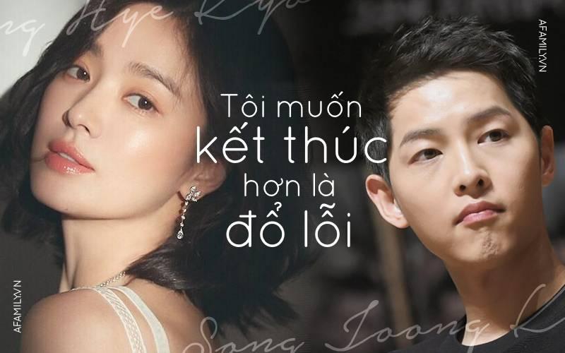 Song Hye Kyo ly hôn Song Joong Ki: Thôi đừng nói ngôn tình với trăm năm...-5