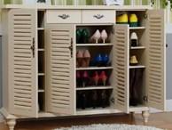 Sai lầm trong phong thủy đặt tủ giày khiến bạn nghèo khó cả đời, vợ chồng con cái khó hòa hợp