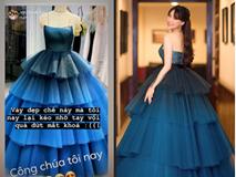 Diện váy công chúa nhưng không may bị đứt khóa, Hòa Minzy đã có cách ứng biến tinh tế khiến ít ai nhận ra