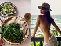 Kỳ Duyên tiết lộ đã giảm 6kg: Thực đơn không tinh bột, bữa tối ăn sữa chua với hạt hỗn hợp