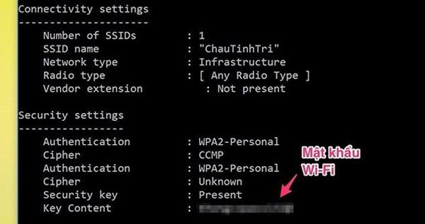Cách xem lại mật khẩu WiFi điện thoại và máy tính-2