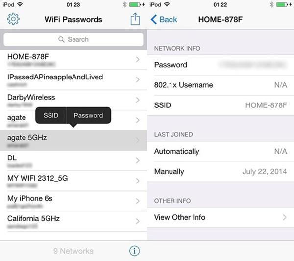 Cách xem lại mật khẩu WiFi điện thoại và máy tính-4