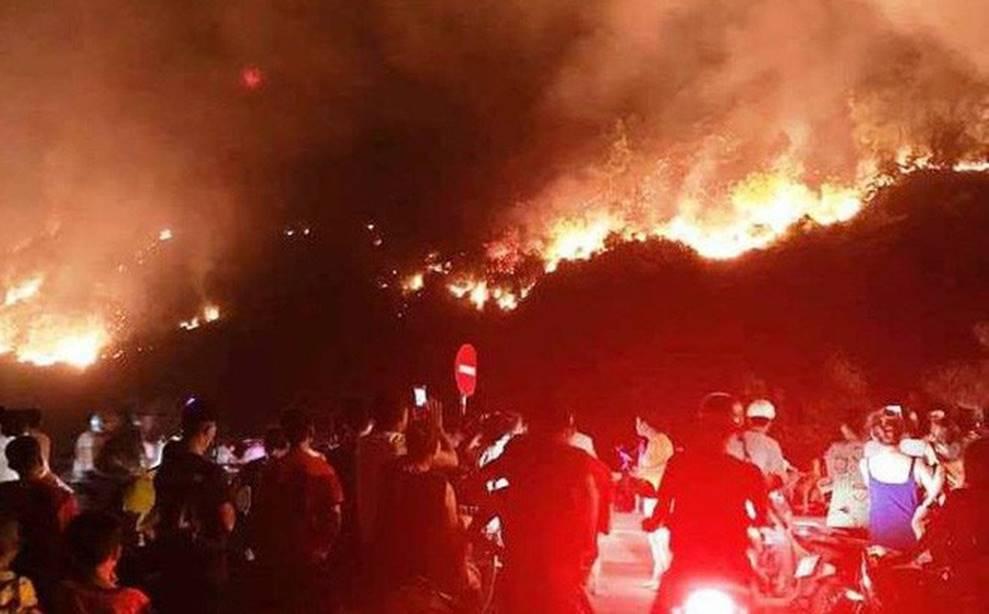 Lộ danh tính người đàn ông bị công an tạm giữ nghi gây ra vụ cháy rừng lớn nhất Hà Tĩnh-1