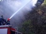 Tan hoang rừng thông Hà Tĩnh, tro than bay mịt mù sau 3 ngày hỏa hoạn-11