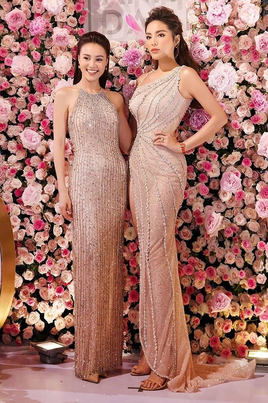 Hoa hậu Kỳ Duyên khoe dáng nóng bỏng với váy xuyên thấu sau khi giảm cân-2