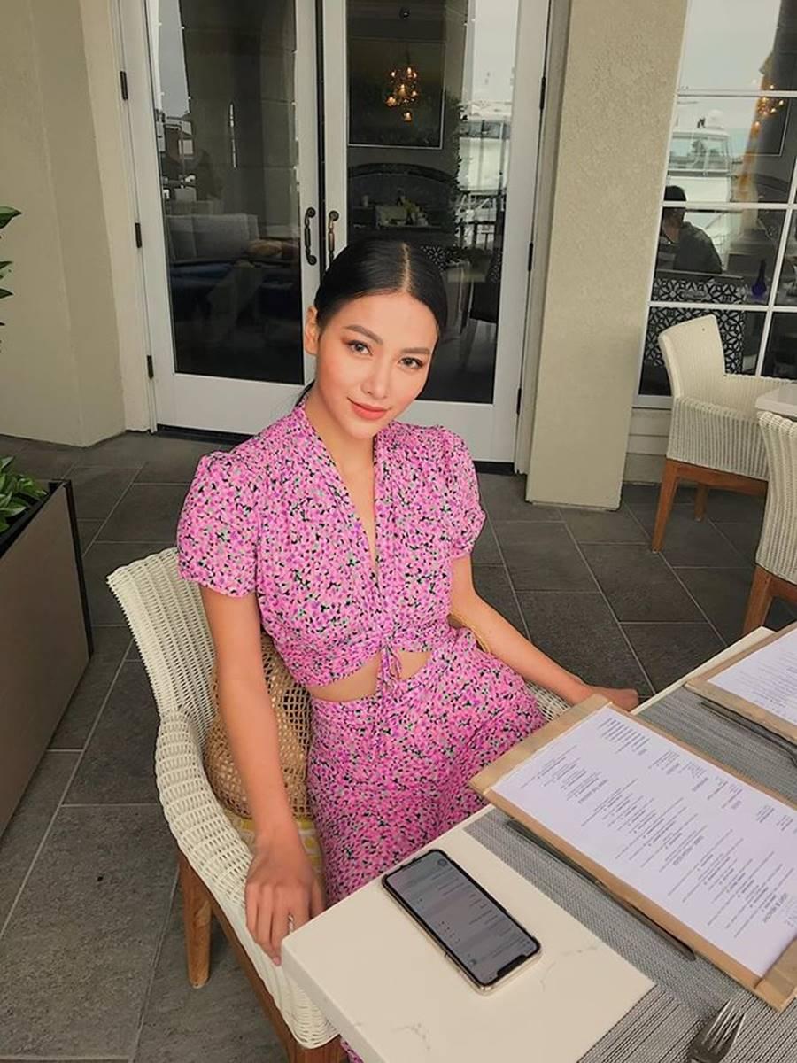 Hoa hậu Kỳ Duyên khoe dáng nóng bỏng với váy xuyên thấu sau khi giảm cân-6