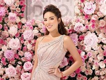 Hoa hậu Kỳ Duyên khoe dáng nóng bỏng với váy xuyên thấu sau khi giảm cân