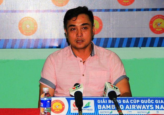 HLV Nguyễn Đức Thắng chia tay CLB Thanh Hóa-1