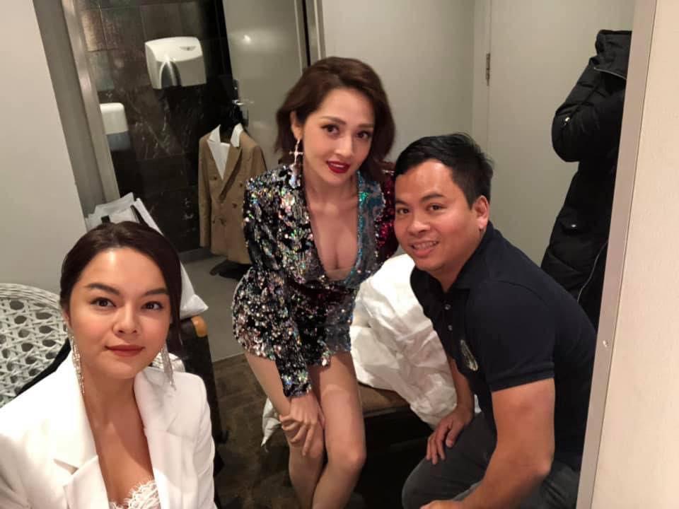 """Lần đầu tiên sau tin đồn tình địch, Phạm Quỳnh Anh và Bảo Anh chụp hình chung nhưng biểu cảm của ca sĩ đàn chị"""" thật khó hiểu-1"""