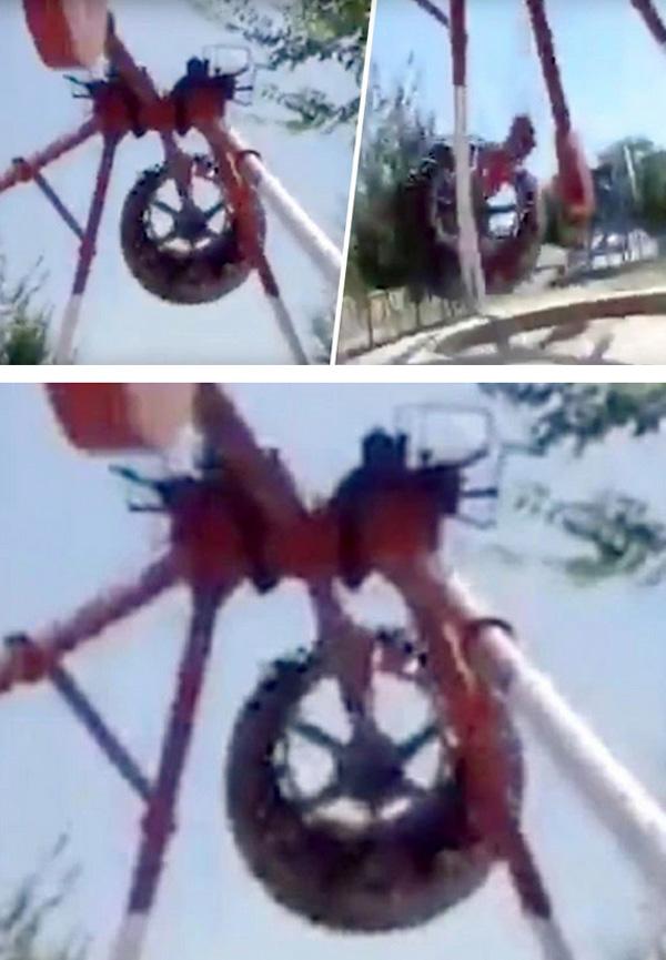 Cảnh tượng ám ảnh những ai thích trò chơi mạo hiểm: Đu quay 360 độ đột ngột rơi xuống đất, thiếu nữ 19 tuổi tử vong tại chỗ-2
