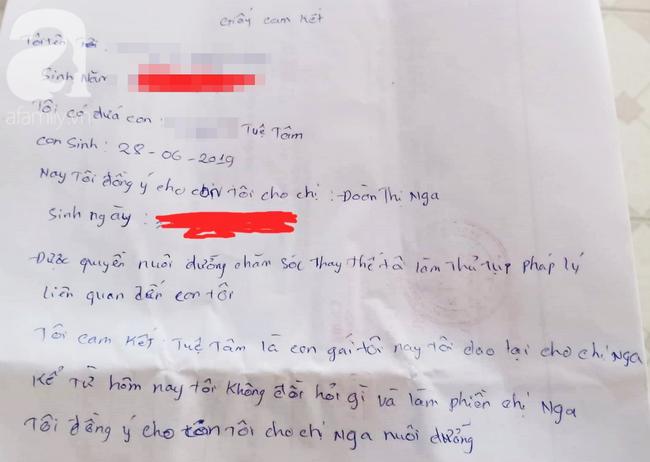 Mẹ đơn thân sinh con gái được 3 ngày thì viết giấy cho con vì không nuôi nổi-3