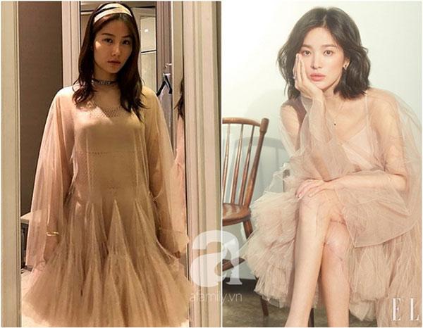Đụng váy Dior: Song Hye Kyo thần thái xuất hiện trên tạp chí khi mới lục đục hôn nhân, Diễm My 9x kém sắc hơn hẳn-5