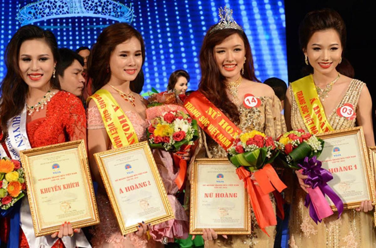 Nhan sắc bạn gái Trọng Đại qua 6 cuộc thi hoa hậu-1