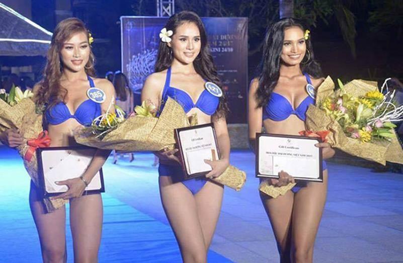 Nhan sắc bạn gái Trọng Đại qua 6 cuộc thi hoa hậu-6