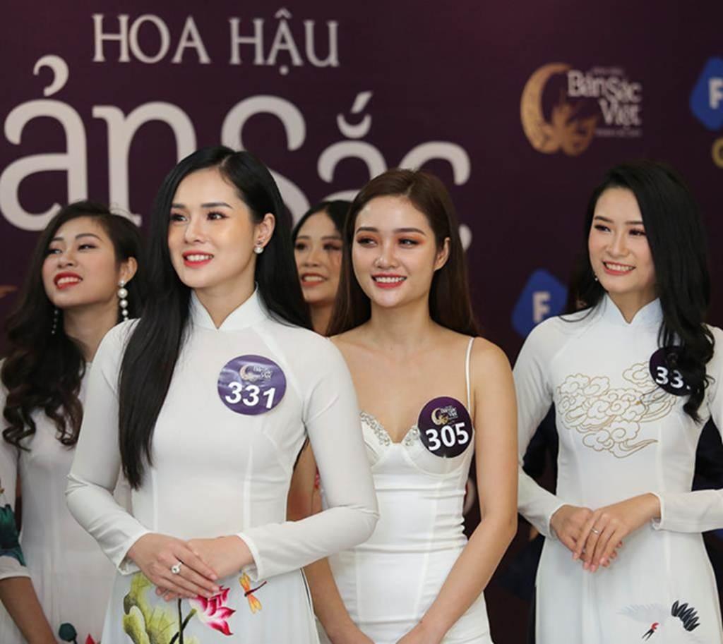 Nhan sắc bạn gái Trọng Đại qua 6 cuộc thi hoa hậu-8