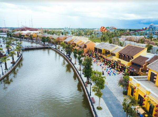 Kỳ ảo màn trình diễn 'Thương cảng thần tiên' ở Vinpearl Land Nam Hội An-6