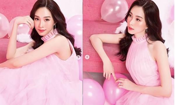Hoa hậu Thu Thảo lại gây thương nhớ với nhan sắc thần tiên tỷ tỷ-1