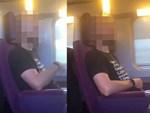 Kẻ biến thái tự sướng trước mặt cô gái trên xe buýt, chàng trai bên cạnh hành động không ngờ-3