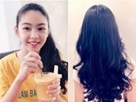 Con gái lớn MC Quyền Linh sớm bộc lộ tố chất beauty blogger với khả năng làm tóc điệu nghệ
