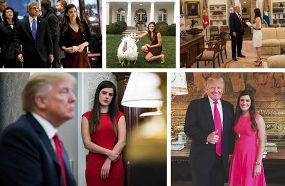 Điều ít biết về nữ trợ lý 28 tuổi xinh đẹp và đầy quyền lực của Tổng thống Trump, được trả lương hơn 3 tỷ đồng mỗi năm-7