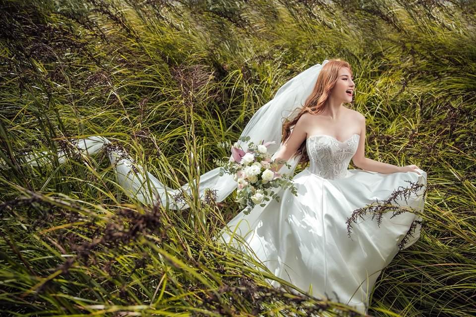 Khẳng định không cưới chạy bầu, ảnh cưới của Thu Thủy vẫn tiếp tục khiến dân mạng hoài nghi khi nhìn đến vòng 2-14