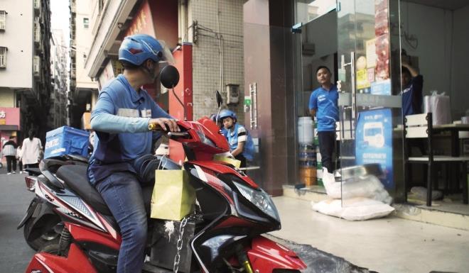 Tài xế giao đồ ăn ở Trung Quốc - công việc đầy vất vả và nguy hiểm-1