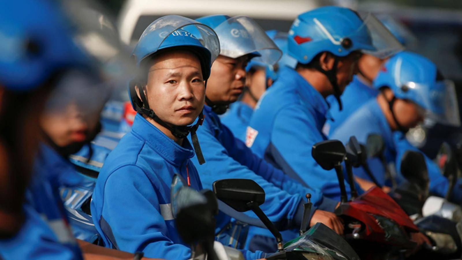 Tài xế giao đồ ăn ở Trung Quốc - công việc đầy vất vả và nguy hiểm-6