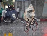 Bão số 2 giật cấp 11 đã đổ bộ vào đất liền các tỉnh từ Nam Định đến Hải Phòng, Hà Nội mưa to