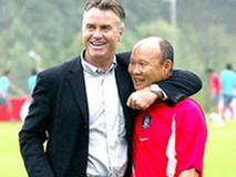 HLV Park Hang Seo lần đầu tái ngộ Guus Hiddink, U22 Việt Nam đá giao hữu tại Trung Quốc chuẩn bị cho SEA Games