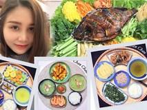 9x Hà Nội khiến MXH phát sốt vì 30 mâm cơm đẹp xuất sắc, chỉn chu đến từng cọng rau miếng thịt