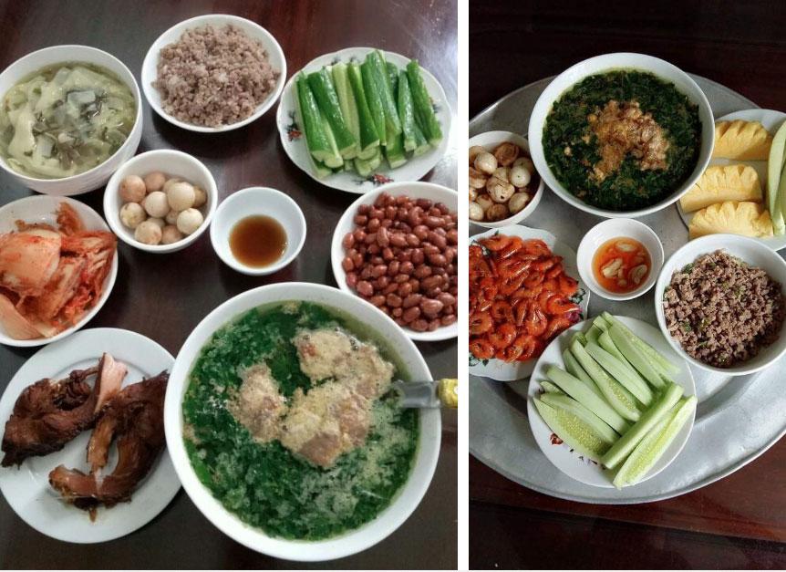 Mẹ 8x gợi ý mâm cơm tự nấu cho chị em, chỉ hơn 100k/bữa nhưng đầy đủ các món cho 4 người lớn, 3 trẻ nhỏ-5
