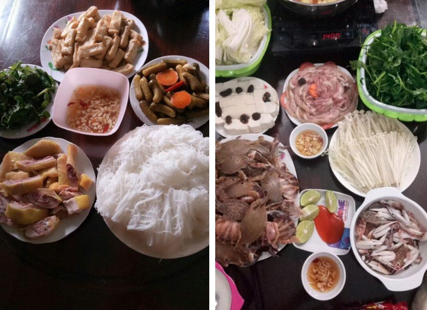 Mẹ 8x gợi ý mâm cơm tự nấu cho chị em, chỉ hơn 100k/bữa nhưng đầy đủ các món cho 4 người lớn, 3 trẻ nhỏ-6
