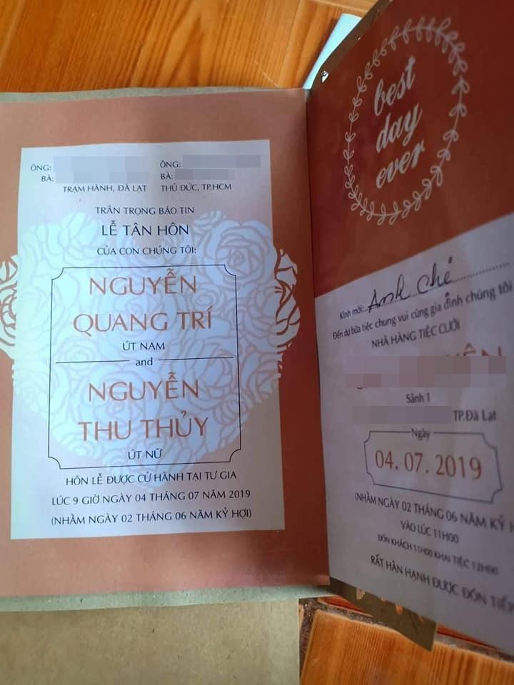 Rò rỉ hình ảnh trong đám cưới của Thu Thủy và chồng trẻ kém 10 tuổi ở quê nhà Đà Lạt, dân mạng bán tín bán nghi?-4