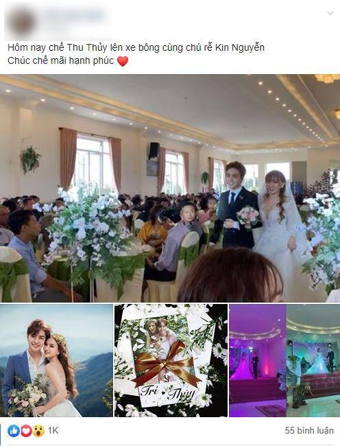 Rò rỉ hình ảnh trong đám cưới của Thu Thủy và chồng trẻ kém 10 tuổi ở quê nhà Đà Lạt, dân mạng bán tín bán nghi?-1