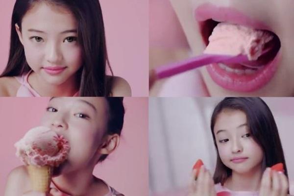 Góp mặt trong quảng cáo kem, bản sao nhí của Song Hye Kyo gây phẫn nộ, bị chỉ trích hình ảnh gợi dục, cổ xúy ấu dâm-3