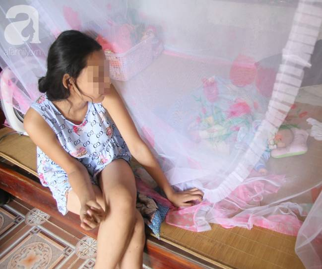 Lời kể của bé gái 14 tuổi bị bố ruột hiếp dâm đến sinh con: Mẹ mất, cháu ngủ thì bố mò vào, cháu không chống cự được-4